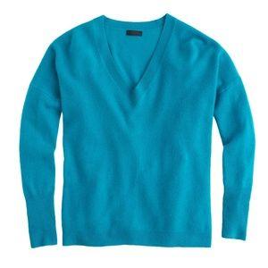 J.Crew Collection Cashmere Boyfriend Sweater Small
